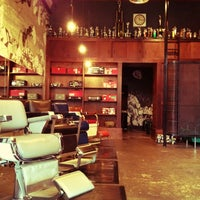 Photo taken at Rudy's Barbershop by Timur H. on 7/23/2012