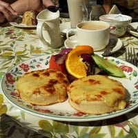Photo taken at The New Forest Tea Rooms by Gordon F. on 5/27/2012