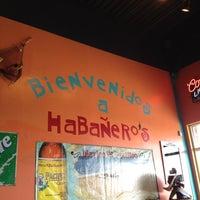Photo taken at Habañero's by Jamie C. on 4/29/2012