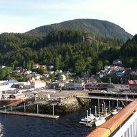 Photo taken at Ketchikan, Alaska Pier One by Sandy G. on 6/22/2012