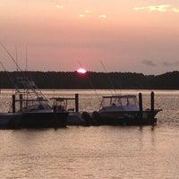Photo taken at Skull Creek Boathouse by Christina on 7/31/2012