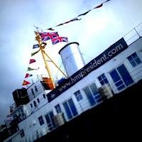 Photo taken at HMS President (1918) by Keira V. on 6/6/2012
