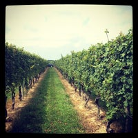 Photo taken at The Lenz Winery by Kyle E. on 8/5/2012