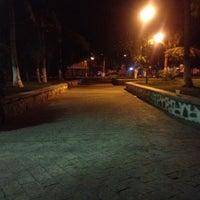 Photo taken at Parque central salina cruz by Edgar on 7/24/2012