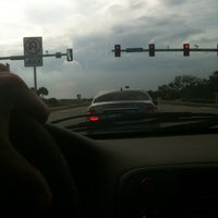 Photo taken at Interstate 95 Pineda Causeway Extension Exit by Ron L. on 2/2/2012