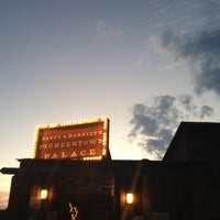 Photo taken at Pappy & Harriet's Pioneertown Palace by Brynn M. on 9/9/2012