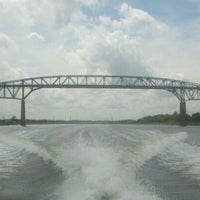 Photo taken at Chesapeake & Delaware Canal by Sam on 5/15/2012
