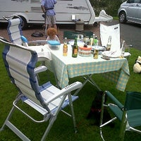 Photo taken at Damage Barton Camping and Caravanning Club Site by littlegamgee on 6/27/2012