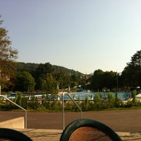 Photo taken at Freibad Aarau by Marco K. on 7/27/2012