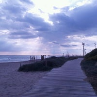 Photo taken at Prat Beach by Juan L. on 2/14/2012