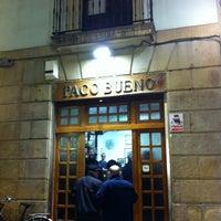 Foto scattata a Paco Bueno da Pejerito P. il 2/27/2012
