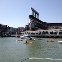 Photo taken at McCovey Cove by Tyler H. on 4/29/2012