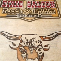 Photo taken at Dixie Saloon Food & Spirits by Zepigrl :. on 7/9/2012