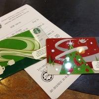 Photo taken at Starbucks by Priscillia J. on 3/1/2012