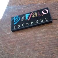 Photo taken at Buffalo Exchange by Burcin T. on 7/8/2012