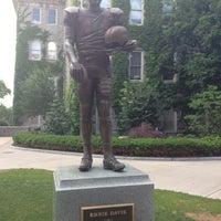 Photo taken at Ernie Davis Statue by Larry W. on 6/6/2012