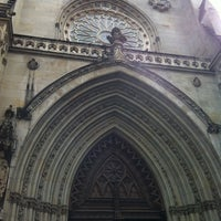 Photo taken at Catedral de Santiago de Bilbao by Dani V. on 4/6/2012