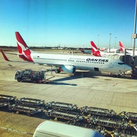 Photo taken at Brisbane Airport Domestic Terminal by Ross B. on 8/31/2012