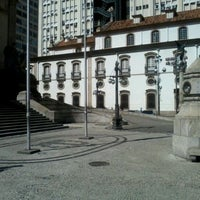 Photo taken at Praça XV de Novembro by Rennan A. on 5/5/2012