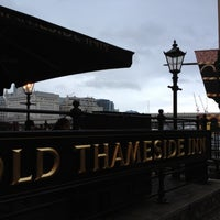 Photo taken at Old Thameside Inn by Heather R. on 7/3/2012