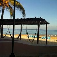 Photo taken at El Cozumeleño Beach Resort by Monica Z. on 7/31/2012