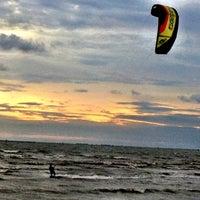 Photo taken at Wonnapa Beach by NaM YsY on 5/28/2012