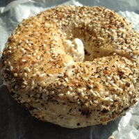 Photo taken at Bethesda Bagels by Dion H. on 8/29/2012