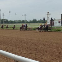 Photo taken at Lone Star Park by Jonathan Harris F. on 4/14/2012