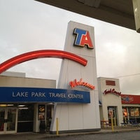 Photo taken at TravelCenters of America by tata h. on 8/8/2012