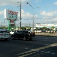 Photo taken at Lotus Intersection by Songsak S. on 9/1/2012