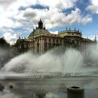 Photo taken at Karlsplatz (Stachus) by Lukas G. on 7/16/2012