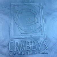 Photo taken at Crabbys Seafood Bar & Grill by Sonia A. on 9/9/2012