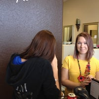 Photo taken at Evolution Salon and Spa by Christopher E. on 2/8/2012