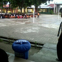 Photo taken at SMP Negeri 2 Palu by Mohammad Faras D. on 7/10/2012