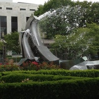 Photo taken at Capitol Mall Fountain by Erik W. on 7/22/2012
