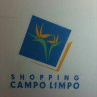 Foto tirada no(a) Shopping Campo Limpo por Fabio C. em 6/14/2012