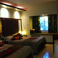Photo taken at La Filipiniana Hotel by AebbyGurl on 4/8/2012