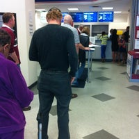 Photo taken at Country Club Post Office by Maria M. on 4/9/2012