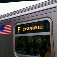 Photo taken at MTA Subway - F Train by Stan K. on 2/29/2012