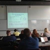 Photo taken at Reykjavík University by Bjarni L. on 7/17/2012