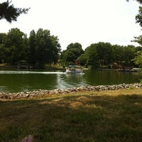 Photo taken at Holiday Shores Lake by Dale F. on 7/6/2012