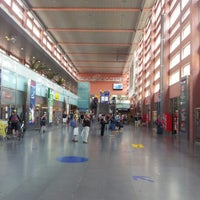 Photo taken at Innsbruck Hauptbahnhof by Ivia A. on 8/11/2012