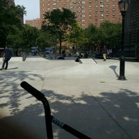 Photo taken at Coleman Playground Skatepark by Kyle M. on 7/7/2012
