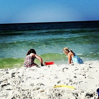 Photo taken at Seagrove Beach by Ginger Bobo S. on 8/26/2012