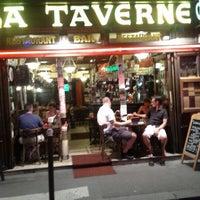 Photo taken at La Taverne de l'Olympia by Julien M. on 8/17/2012