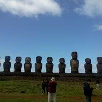Photo taken at Easter Island by Alvaro Q. on 7/25/2012