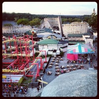 Photo taken at Rye Playland by Angel A. on 8/21/2012