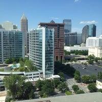 Photo taken at Renaissance Atlanta Midtown Hotel by Bryan B. on 5/6/2012