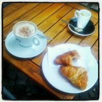 Photo taken at Café Bohne by Yvonne S. on 8/26/2012
