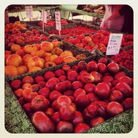 Photo taken at Fort Mason Farmers' Market by Lauren R. on 8/13/2012